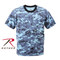 Rothco Kids Blue Digital Camo T Shirt - View