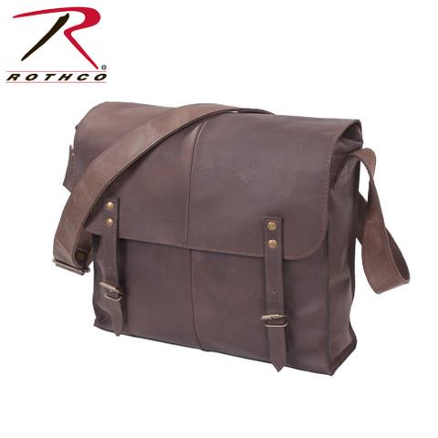 Rothco Brown Leather Medic Bag - View
