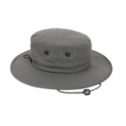 Adjustable Olive Drab Boonie Hat - Side View