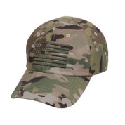 Rothco Multicam Tactical Operator Cap w/US Flag