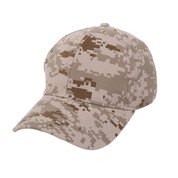 Digital Camo Supreme Low Profile Baseball Cap
