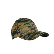 Woodland DIgital Camo Supreme Low Profile Baseball Cap