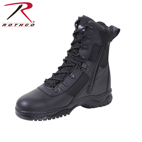 Rothco Insulated Waterproof Side Zip Tactical Boot - Side View