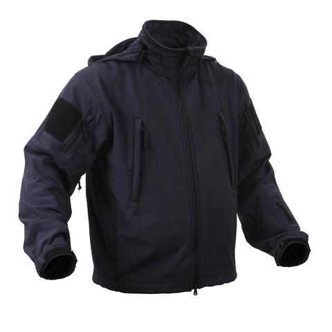 Rothco Midnight Navy Blue Special Ops Softshell Jacket - View