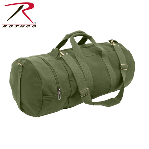 Olive Drab Canvas Double Ender Sports Bag - Rothco View