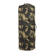 Woodland Camo Canvas Zipper Duffle Bag