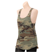 Rothco Womens Camo Racerback Tank Tops - View