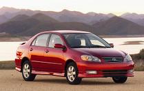 Toyota Corolla (2003-2008) Seat Brackets