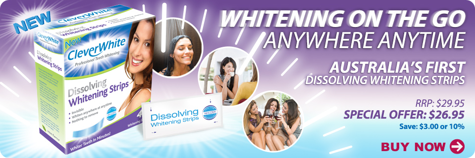 Whitening on the go