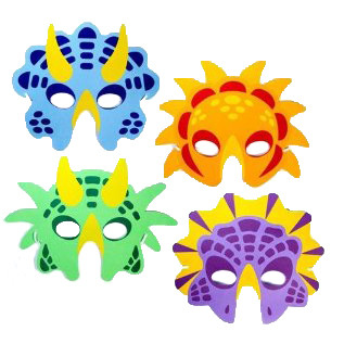 Boys Dinosaur Masks