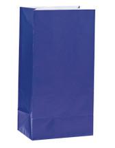 Royal Blue Paper Party Bag