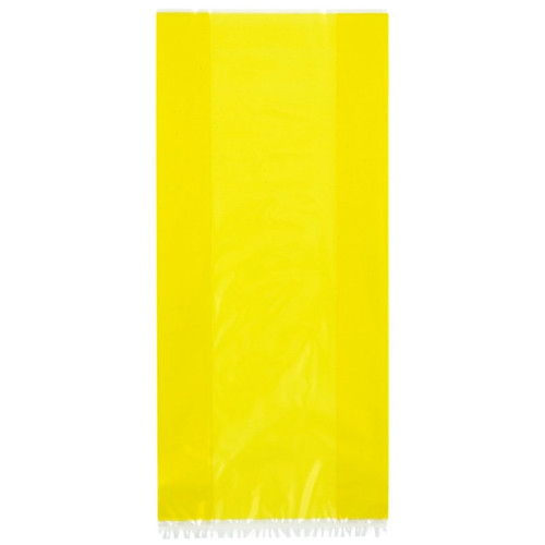 Sunflower Yellow Cellophane Party Bag