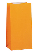 Orange Paper Party Bag