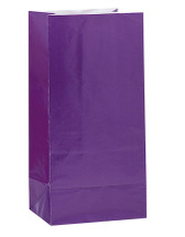 Deep Purple Paper Party Bag