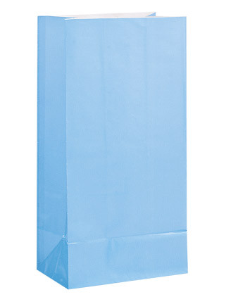 Baby Blue Paper Party Bag