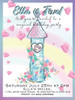 Magical Princess Tower Personalised Party Invitations
