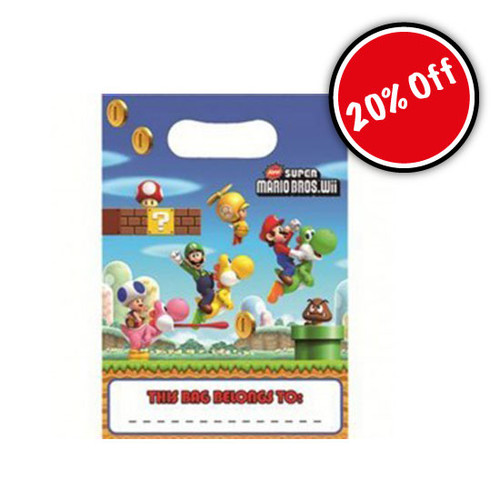 Super Mario Loot Bag