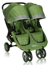 Baby Jogger 2012 City Mini Double Stroller, Green/Gray