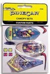 PineCar Derby Racers Canopy & Cockpit Set - 346