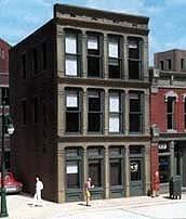 DPM Design Preservation Models HO Scale Kit 1st National Bank - 11800
