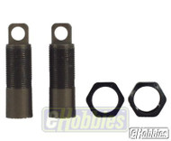 "Team Losi .6"" Threaded Shock bodies w/nuts - A5054"