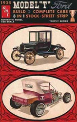 AMT 1/25 1925 Ford Tall T Car Model Kit - 670