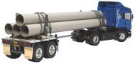 Tamiya 1/14 RC Semi Pole Trailer Kit (For Tractor Truck) ~ 56310