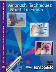 Badger Airbrush Techniques Start to Finish DVD - BD103