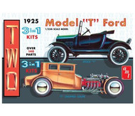 AMT 1/25 1925 Ford Model T Collector's Edition Two Model Kit Set - 626