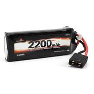 Dynamite 7.4V 2200mAh 2S 25C LiPo Battery Pack: 1/16 TRA - 1422