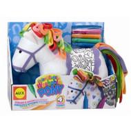 Alex Toys Color & Cuddle Washable Pony - 69WH