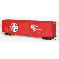 Accurail HO Kit 50' Exterior Post Steel Box, SF (3) ~ 8030