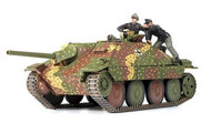 Academy 1/35 German Jagdpanzer 38(t) Hetzer Late Production Version Tank Model Kit - 13230