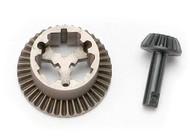 Teaxxas Diff, Ring Gear & Pinion Gear: 1/16 SLH, ERV - 7079