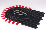 AFX 3 Inch Radius Curve 1/2 Hairpin Circle HO Scale Slot Car Track Set (replaces 8992) - 70614