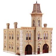 DPM Design Preservation Models HO Scale Kit Fire Station No. 3 - 12400