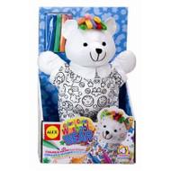 Alex Toys Color & Cuddle Washable Bear - 69WB
