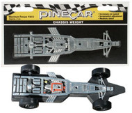 PineCar Derby Racers Chassis Weight Maximum Torque - 3912