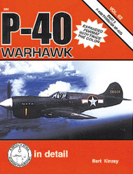 Squadron Signal Publications P-40 Warhawk in Detail & Scale Part 2 Book - 8262