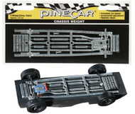 PineCar Derby Racers Chassis Weight Four Wheel Drive - 3910