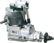 Saito 180B (New Case) AAC w/Muffler: BK ~ E180B