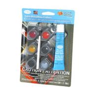 Testors Auto Detailing Acrylic Paint Pod Set - 9100 ^