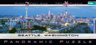 Buffalo Games Seattle Panoramic 765 Piece Jigsaw Puzzle - 14010