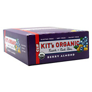 Clif Kit's Organic Fruit + Nut Bar, Berry Almond, 12 Bars - 1.73 oz/49 g per Bar