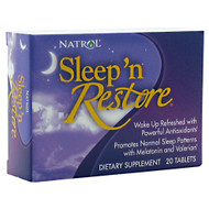 Natrol, Sleep 'n Restore, 20 Tablets, 20 Tablets