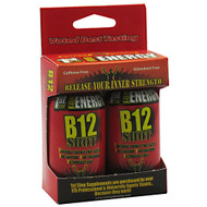 1st Step for Energy, B12 Shot, Maximum Energy, Cherry Charge, 2 - 1 fl oz bottles