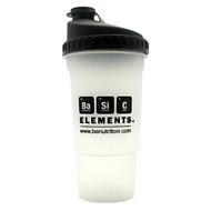 Basic Elements Nutrition, Basic Elements Shaker Bottle, 1 Shaker Bottle, 1 Shaker Bottle - 20 ounces