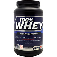 4Ever Fit, 100% Whey Protein, Strawberry Cream, 2 lbs (908 g)
