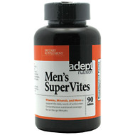 Adept Nutrition, Men's Supervites, 90 tablets, 90 tablets