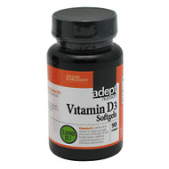 Adept Nutrition, Vitamin D3 2,000 IU, 90 Softgels, 90 Softgels